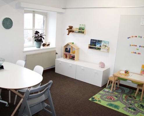 Behandelkamer kinderen Logopedie Kerkrade